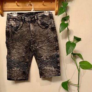 4/25$ Oxygen dark wash denim shorts for men sz 30